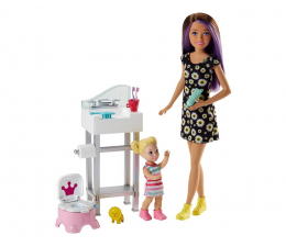 Barbie Skipper Zestaw Opiekunka z akcesoriami IV (FHY97 FJB01 )
