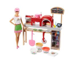 Barbie Zestaw Pizzeria z lalką (FHR09)