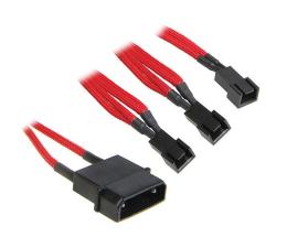 Bitfenix Molex 3x 3-Pin 7V Adapter 20cm czerwony/czarny (BFA-MSC-M33F7VRK-RP)