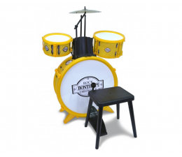 Bontempi Perkusja 4 Elementowa Ze Stołkiem (041-514501)