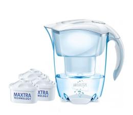 Brita Elemaris Meter biały 2,4L + 3 wkłady Maxtra (Elemaris Meter)