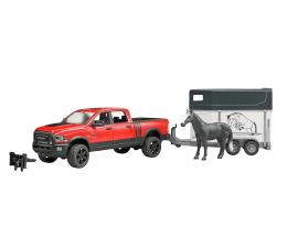 Bruder Auto RAM 2500 Power Wagon z przyczepą dla konia (02501)