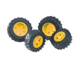 Bruder Koła bliźniacze 03000 - żółte (BR-03314)