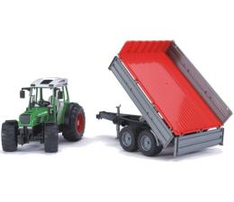 Bruder Traktor Fendt 209 S z przyczepą wywrotką (02104)
