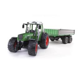 Bruder Zestaw Traktor Fendt 209 S z przycz.zieloną (BR-01999)