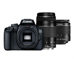Canon EOS 4000D 18-55mm IS + 75-300mm III (3011C010)