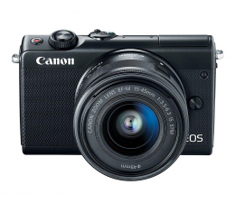 Canon EOS M100 EF-M 15-45mm IS STM czarny + Irista  (2209C096)