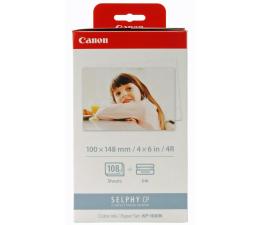 Canon KP-108IN -108 szt 10x15cm (papier+folia barwiąca)  (SELPHY CP910 / CP1200)