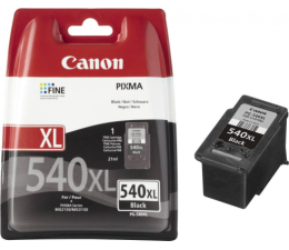 Canon PG-540XL black 600str. (MG2250/MG3150/MG3250/MG4250/4150/MG3550/MX535)