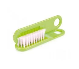 Canpol Szczoteczka Do Włosów Naturalne Włosie Zielona ( 5903407024240)