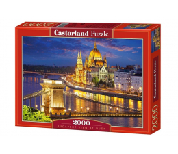 Castorland Budapest view at dusk (200405)