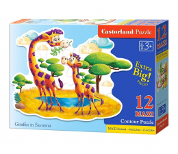 Castorland Giraffes in Savanna (B-120178)