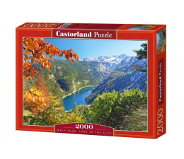 Castorland Navy Blue Lake in the Alps (200399)
