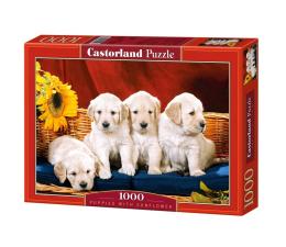 Castorland Puppies With Sunflower (101771)