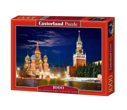 Castorland Red Square by Night in Moscow, Russia (101788)