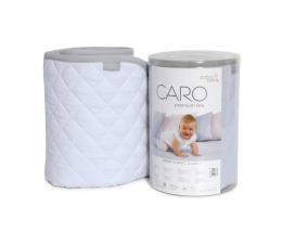 Ceba Baby Kocyk dziecięcy 90x100 CARO niebieski (5907672322247)