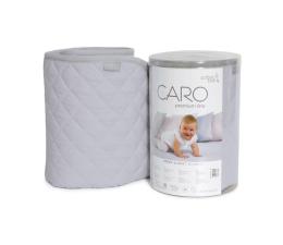 Ceba Baby Kocyk dziecięcy 90x100 CARO szary (5907672322254)