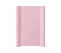 Ceba Baby Przewijak twardy krótki 50x70 CARO różowy (5907672321448)