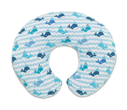 Chicco Boppy Blue Whales (8058664050581)