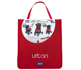 Chicco Color Pack Red Wave do wózka Urban (8058664016600)