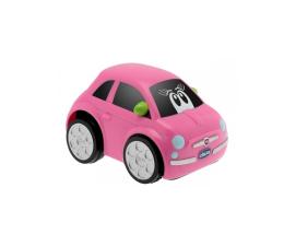 Chicco Fiat 500 TOURBO TOUCH - Różowy (8058664039418)