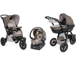 Chicco Trio Activ3 zestaw 3w1 Dove Grey (8058664090310)