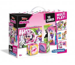 Clementoni Disney Klocki 12 Multiplay Minnie Happy (41506)