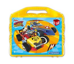Clementoni Disney Klocki Cubes 12 el. Mickey i rajdowcy (41183)
