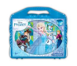 Clementoni Disney Klocki obrazkowe 12 el. Frozen (41186)