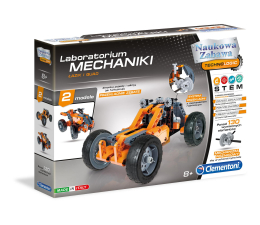 Clementoni Laboratorium Mechaniki Łazik i Quad (60954)
