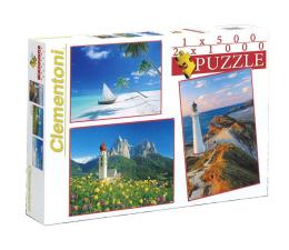 Clementoni Puzzle 1x500+2x1000 el. Krajobrazy (8104)