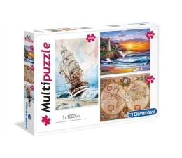 Clementoni Puzzle Adventure 3x1000 el. (08108)