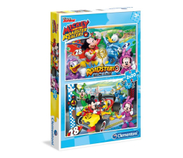 Clementoni Puzzle Disney 2x20 el. Mickey and the Roadster Racers  (7034)