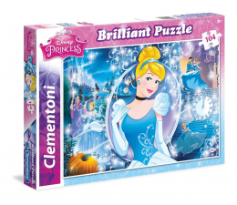 Clementoni Puzzle Disney Brilliant Cinderella 104 el. (20132)