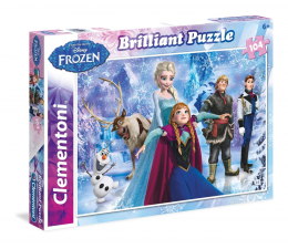 Clementoni Puzzle Disney Brilliant Frozen 104 el. (20127)