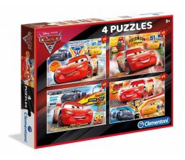 Clementoni Puzzle Disney Cars 3 2x20 + 2x60 el. (07611)