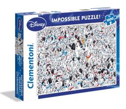 Clementoni Puzzle Disney Imposible Puzzle! 101 Dalmatians (39358)