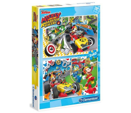Clementoni Puzzle Disney Mickey and the Roadster Racers 2x60 el. (07130)