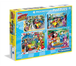 Clementoni Puzzle Disney Mickey and the Roadster Racers (07718)