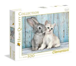 Clementoni Puzzle HQ  Cat&Bunny (35004)