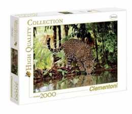 Clementoni Puzzle HQ  Leopard (32537)