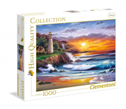 Clementoni Puzzle HQ  Lighthouse at sunset (39368)