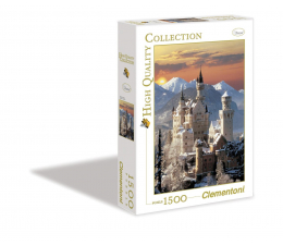 Clementoni Puzzle HQ  Neuschwanstein (31925)