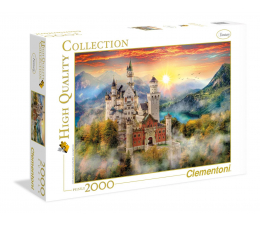 Clementoni Puzzle HQ  Neuschwanstein (32559)