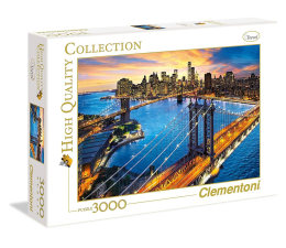 Clementoni Puzzle HQ  New York (33546)