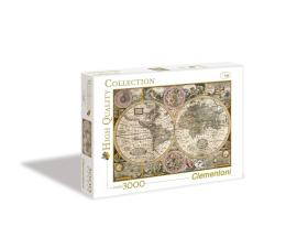 Clementoni Puzzle HQ  Old Map (33531)