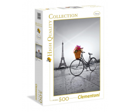 Clementoni Puzzle HQ  Romantic promenade in Paris (35014)