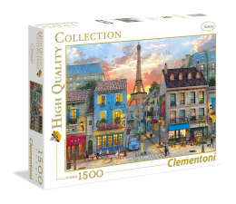 Clementoni Puzzle HQ  Street of Paris (31679)