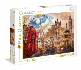Clementoni Puzzle HQ  Vintage London (31807)