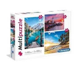 Clementoni Puzzle Landscapes 1x500 + 2x1000 el. (08106)